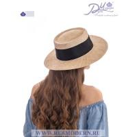 Соломенная шляпка Канотье №2110