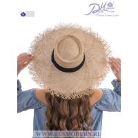 Соломенная шляпка Канотье №2114