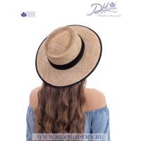 Соломенная шляпка Канотье №2121