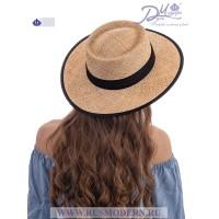 Соломенная шляпка Канотье №2122