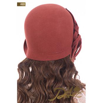 """Фетровая шляпа """"Виктория 023"""""""
