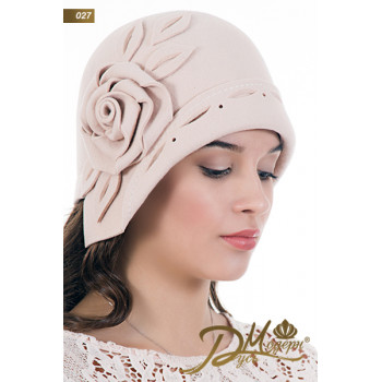 "Фетровая шляпа ""Анна 027"""