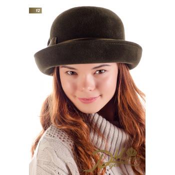 """Фетровая шляпка """"Христодула 12"""""""