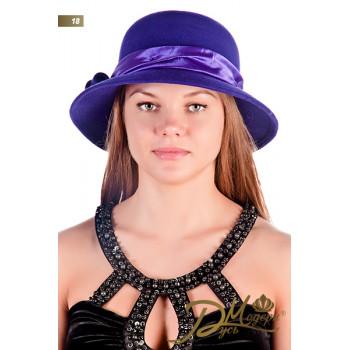 """Фетровая шляпа """"Лилиана 18"""""""