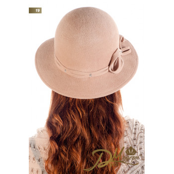 "Фетровая шляпа ""Марлена 19"""