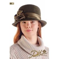 """Фетровая шляпа """"Алисава 41"""""""