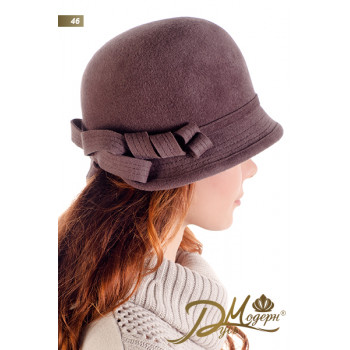 "Фетровая шляпа ""Алира 46"""