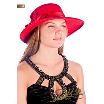 "Фетровая шляпа ""Роза 4"""