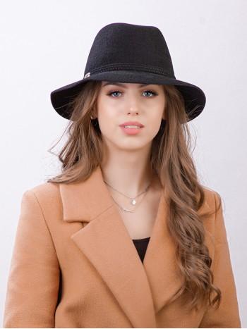 """Фетровая шляпа """"Федора"""" №53"""