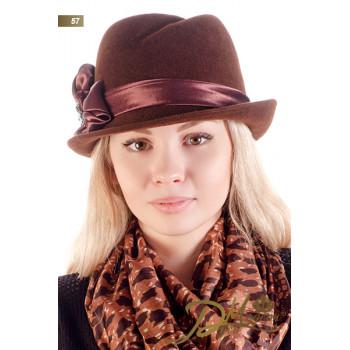 """Фетровая шляпа """"Биргит 57"""""""