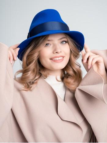 """Фетровая шляпа """"Федора"""" №63"""