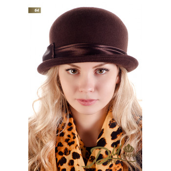 """Фетровая шляпа """"Жасмин 64"""""""