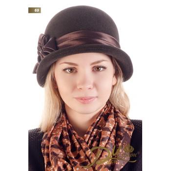 """Фетровая шляпа """"Зоряна 69"""""""