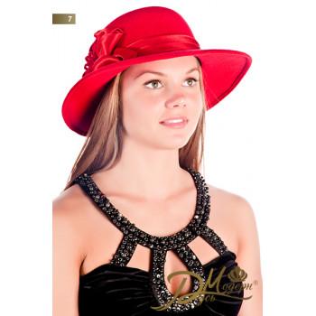 """Фетровая шляпа """"Алеся 7"""""""