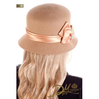 "Фетровая шляпа ""Нора 70"""