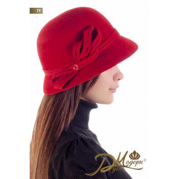 "Фетровая шляпа ""Патрисия 71"""