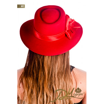 "Фетровая шляпа ""Илзе 91"""