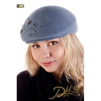 """Фетровая кепка """"Эмма 407"""""""