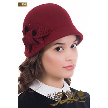 """Фетровая шляпа """"Гертруда 306"""""""