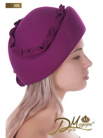 """Фетровая шляпа """"Евтихия 330"""""""