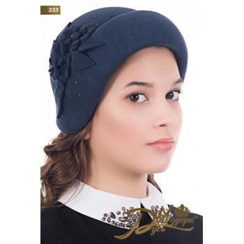 """Фетровая шляпа """"Эвелина 333"""""""