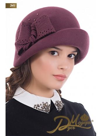 "Фетровая шляпа ""Азалия 341"""