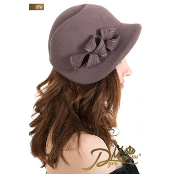 """Фетровая шляпа """"Инесса 378"""""""