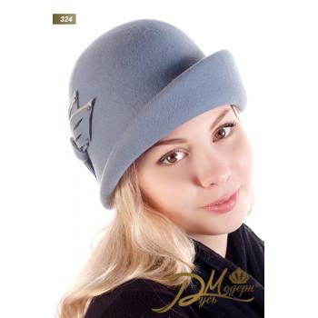 "Фетровая шляпа ""Ираида 324"""