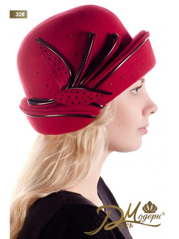 """Фетровая шляпа """"Иоанникия 326"""""""