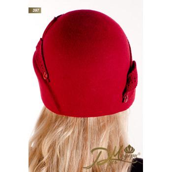 "Фетровая шляпа ""Диодора 397"""