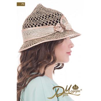 """Соломенная шляпа """"Полианна 71"""""""