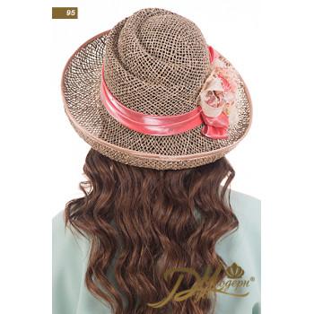 """Соломенная шляпа """"Каролина 95"""""""