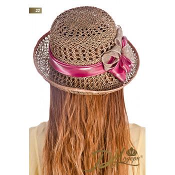 """Соломенная шляпа """"Мериса 22"""""""