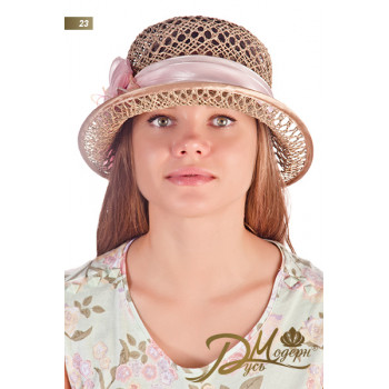 """Соломенная шляпа """"Илария 23"""""""