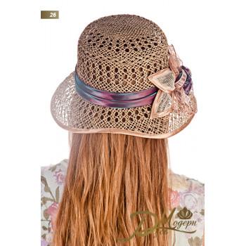 """Соломенная шляпа """"Дана 26"""""""