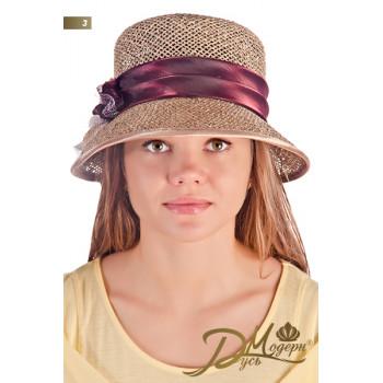 """Соломенная шляпа """"Лавиния 3"""""""