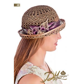 """Соломенная шляпа """"Джема 40"""""""
