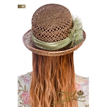 """Соломенная шляпа """"Евлампия 41"""""""
