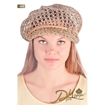 """Соломенная шляпа """"Муза 420"""""""