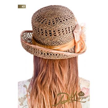 "Соломенная шляпа ""Аида 43"""
