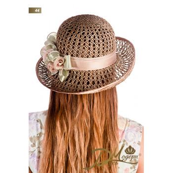 """Соломенная шляпа """"Амина 44"""""""