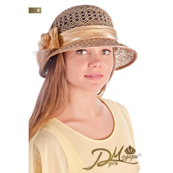 """Соломенная шляпа """"Николь 5"""""""