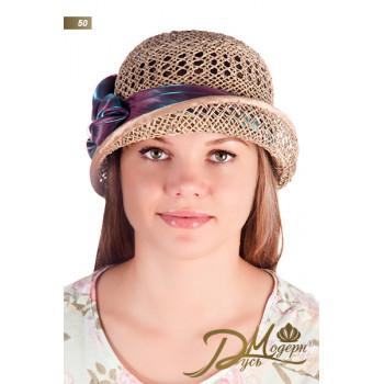 """Соломенная шляпа """"Никки 50"""""""