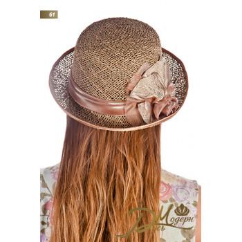 """Соломенная шляпа """"Жюли 61"""""""