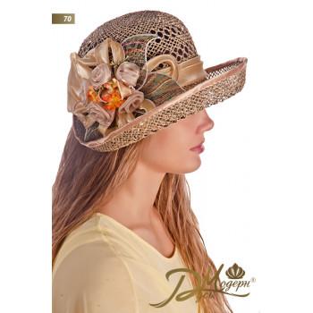 """Соломенная шляпа """"Номи 70"""""""