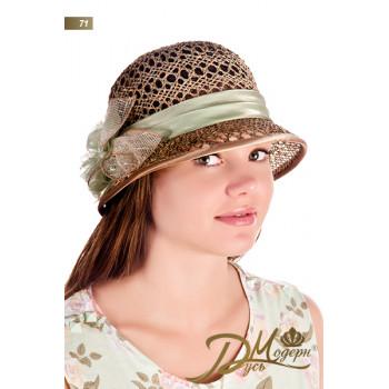 "Соломенная шляпа ""Нинна 71"""