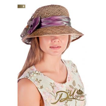 """Соломенная шляпа """"Риана 9"""""""